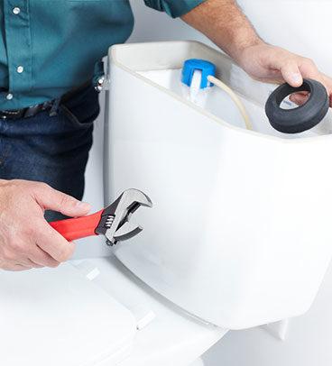 Toilet Installation 01