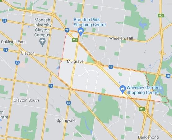 Mulgrave map area